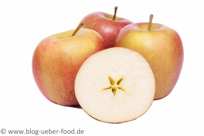 Äpfel der Sorte Braeburn