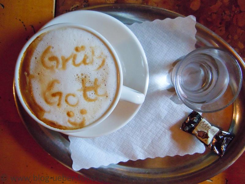 Cappuccino - Grüß Gott