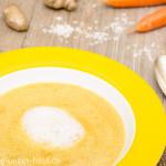 Karottensuppe mit Ingwer