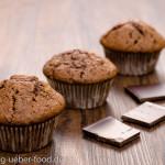 Muffins mit Schokolade
