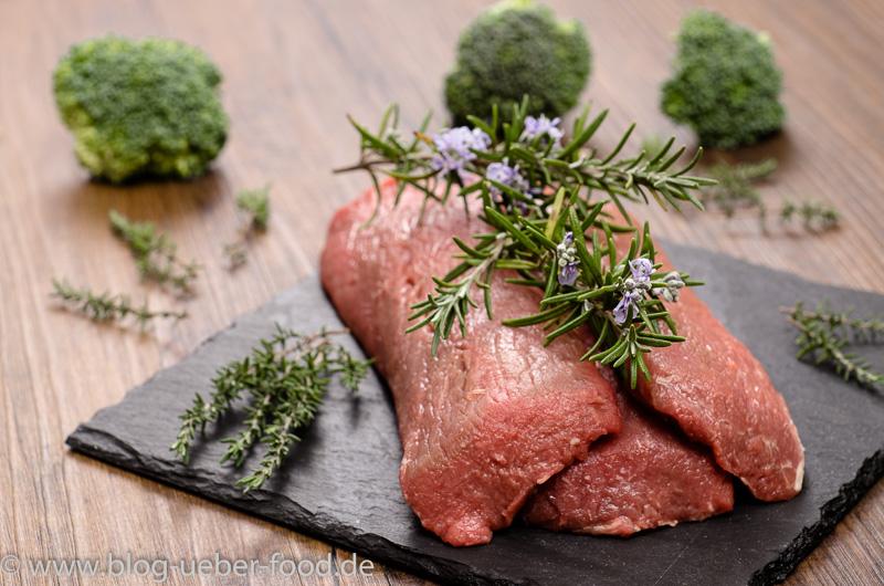 Lammfleisch mit Rosmarin