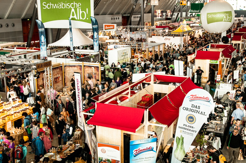 Slow Food Messe 2014 in Stuttgart