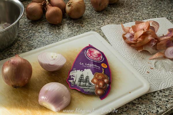 Roscoff-Zwiebeln aus der Bretagne