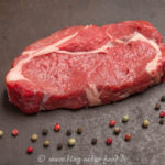 Dry aged Rib-Eye-Steak roh