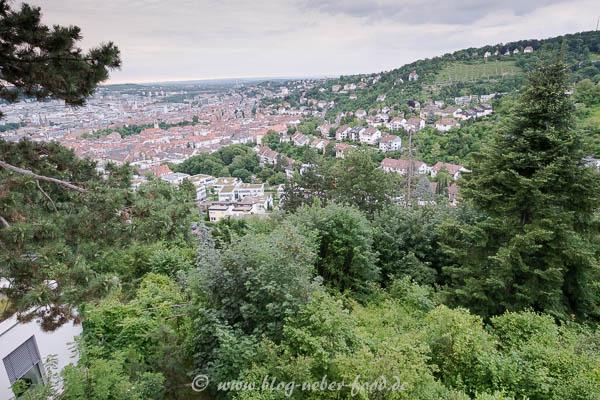 Blick vom Restaurant Wielandshöhe