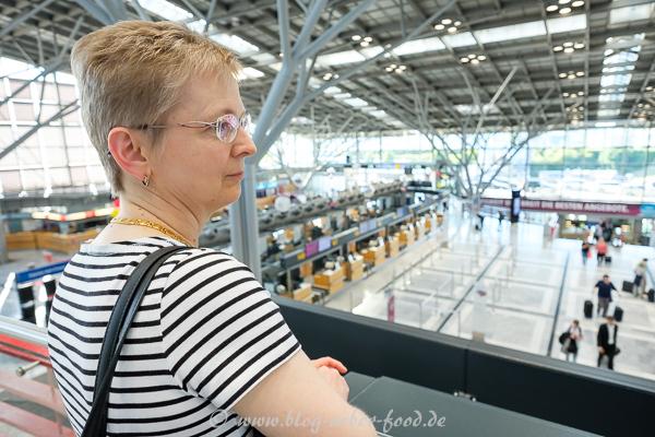Terminal 1 im Flughafen Stuttgart